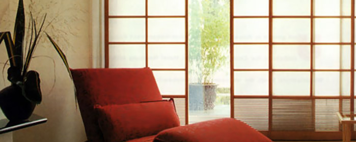 Japanische Wand shoji wände wohnen oasis wohnform bielefeld